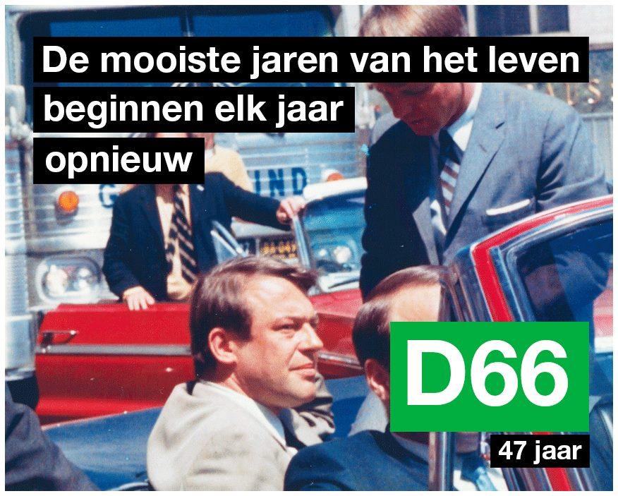 verjaardag D66